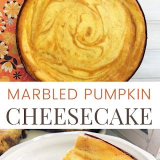 Marbled Pumpkin Cheesecake Recipes