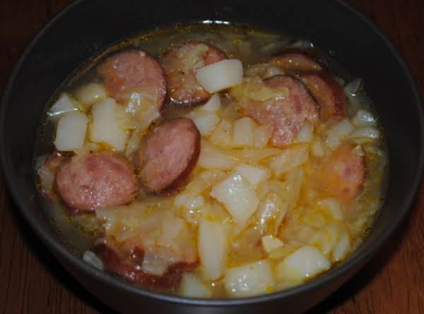 Polish Kielbasa And Cabbage Soup Recipe
