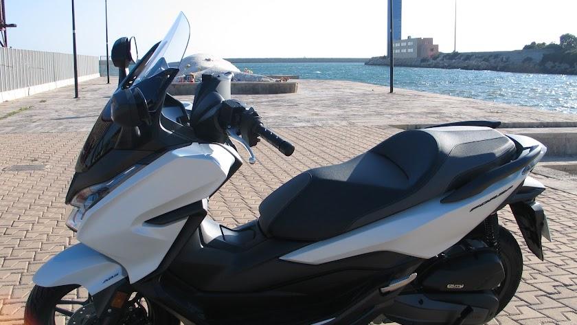 """Honda Motomoción AF presenta el  """"Forza 125"""""""