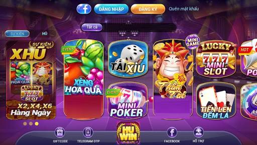 Hu Win - No Hu Slot, Tai Xiu 1.0.0 screenshots 1