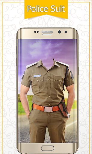 Police Suit Photo Frames - Picture & Image Editor screenshot 2