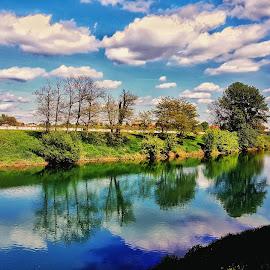 River KUPA CROATIA by Zvonimir Đarmati - Landscapes Cloud Formations