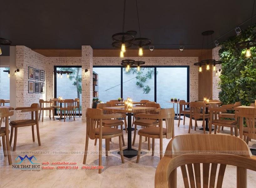 thiết kế quán cafe cho thanh niên