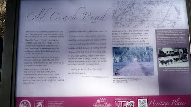 Photo: Sign about Old Coach Rd