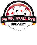 Logo of Four Bullets Royal Flush Red