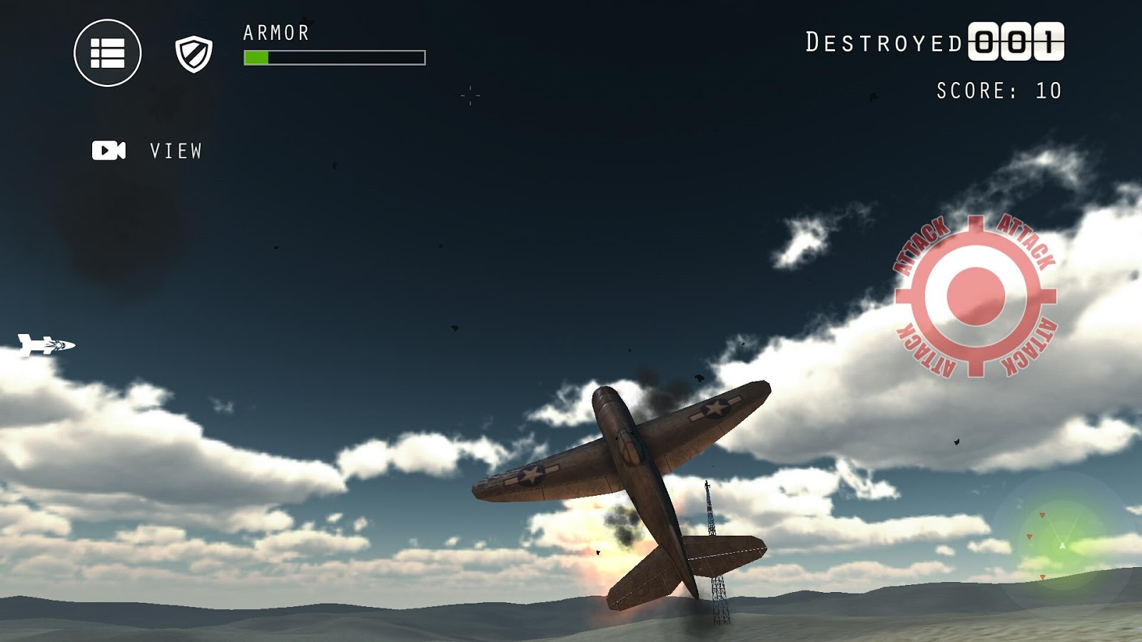Airplane Fighters Combat- screenshot
