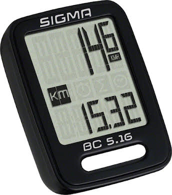 Sigma BC 5.16 Wired Cycling Computer alternate image 0