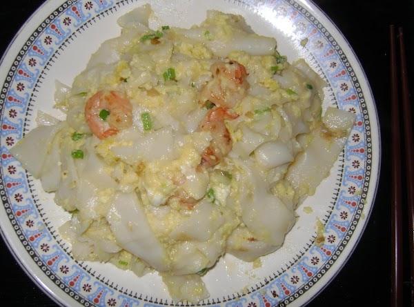 136  Shrimp And Egg Rice Noodles Recipe