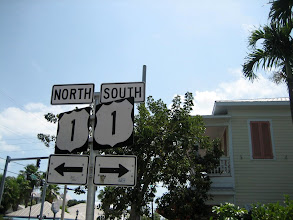 "Photo: ""Ocean highway"", U.S. route 1 starts at Key West"
