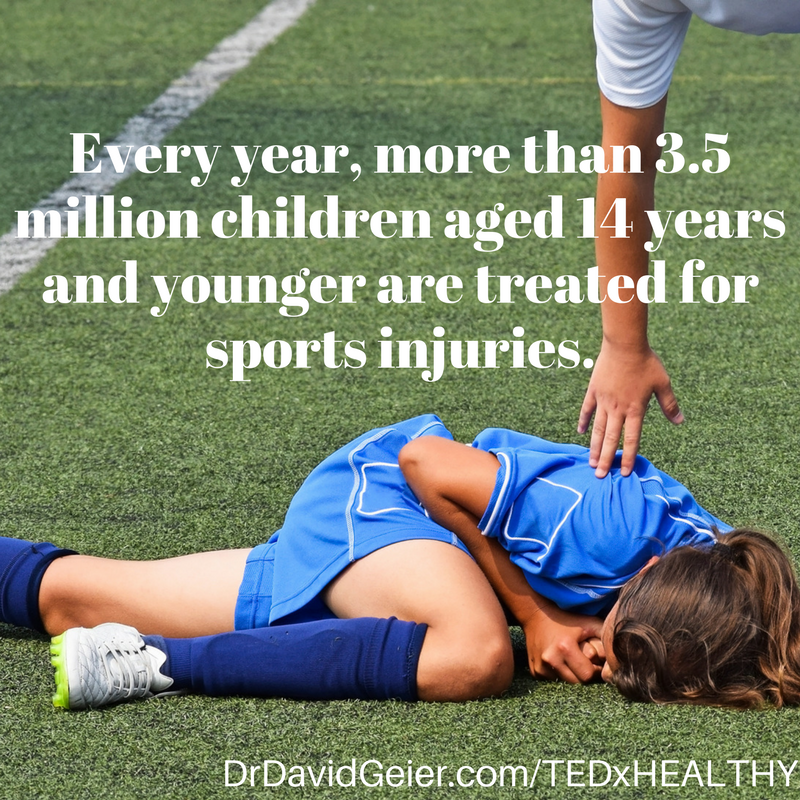 Youth sport injuries
