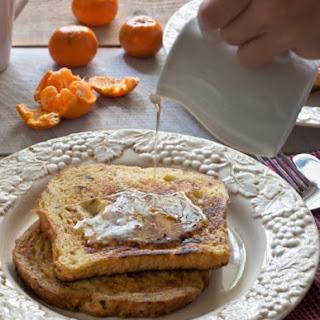 Honeyed French Toast.
