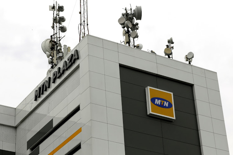 The MTN head office in Lagos, Nigeria. Picture: REUTERS/AFOLABI SOTUNDE