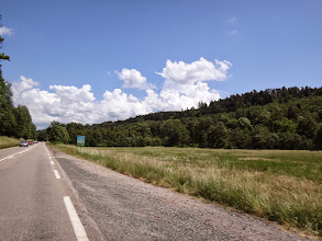 Photo: Sur la route du col du Hantz