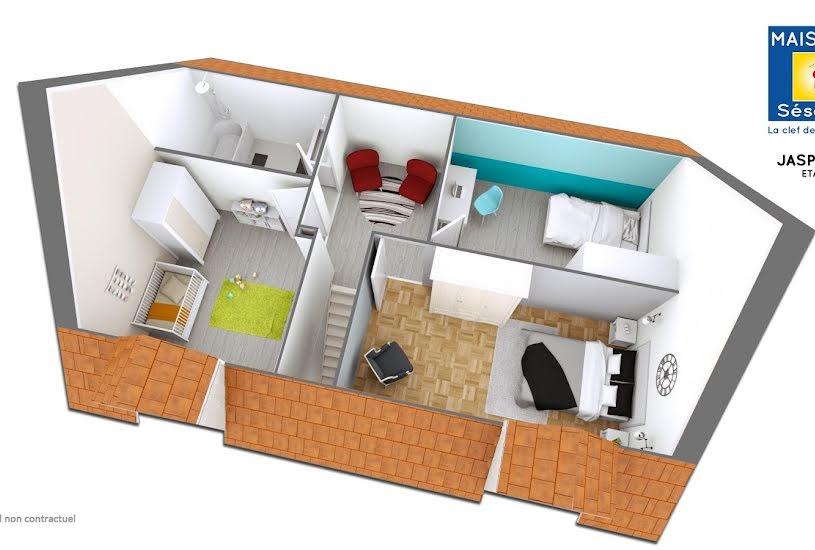 Vente Terrain + Maison - Terrain : 415m² - Maison : 105m² à Dammarie-les-Lys (77190)