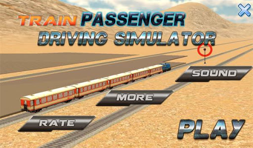 列車の乗客運転シム