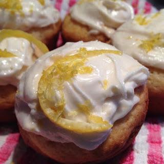 Lemon Cream Cupcakes.