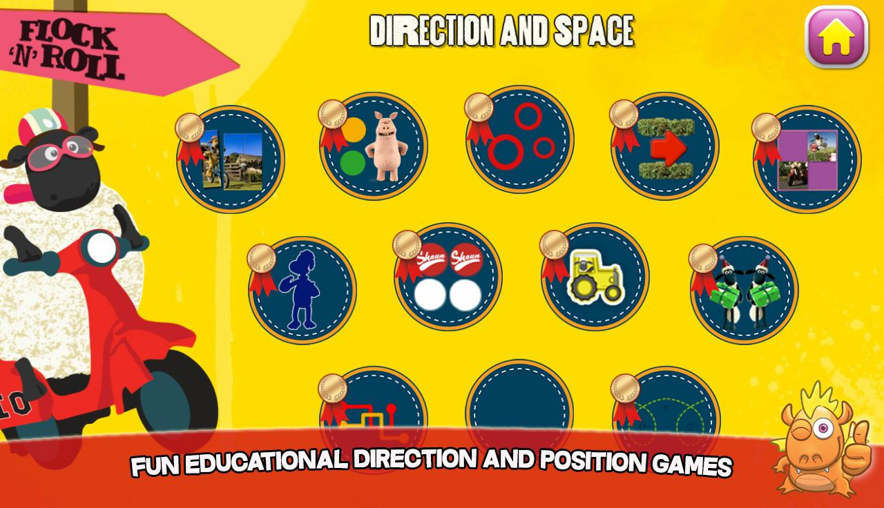 Shaun learning games for kids- screenshot