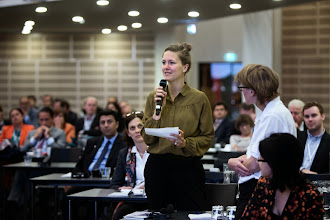 Photo: Foto: Lizette Kabré.  Questions for the panel on The Temperature of the European Union and Major Trends