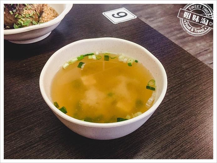 李家粽子碗粿味噌湯