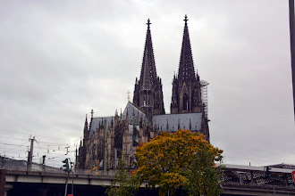 Photo: The Colongne Cathedral - Cologne was settled in 50bc by the Romans, and the Cathedral was the tallest structure in Europe until the Eifel Tower