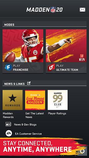 Madden NFL 20 Companion 20.4.2 screenshots 1