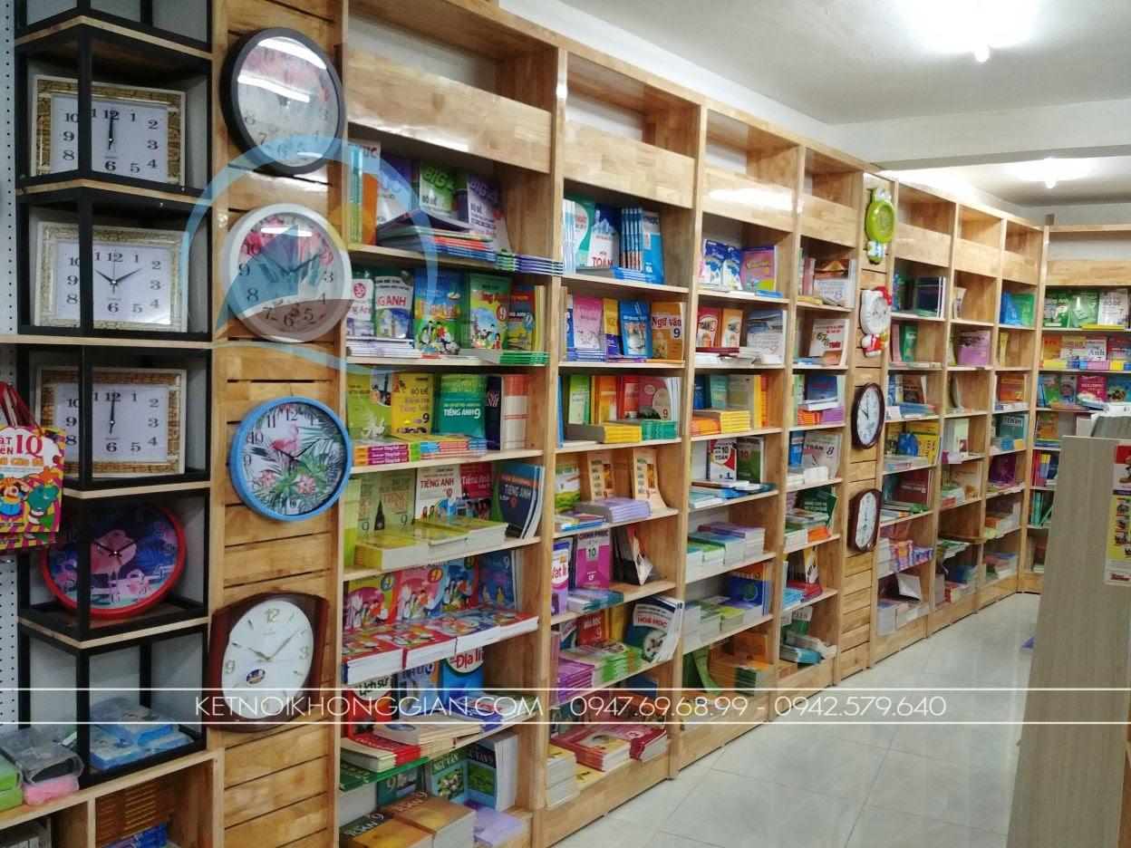 thiết kế thi công nội thất nhà sách Trí Đức 14