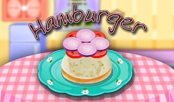 Screenshot of Hamburger Cooking Game