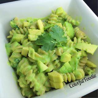 3 Ingredient Avocado Pasta