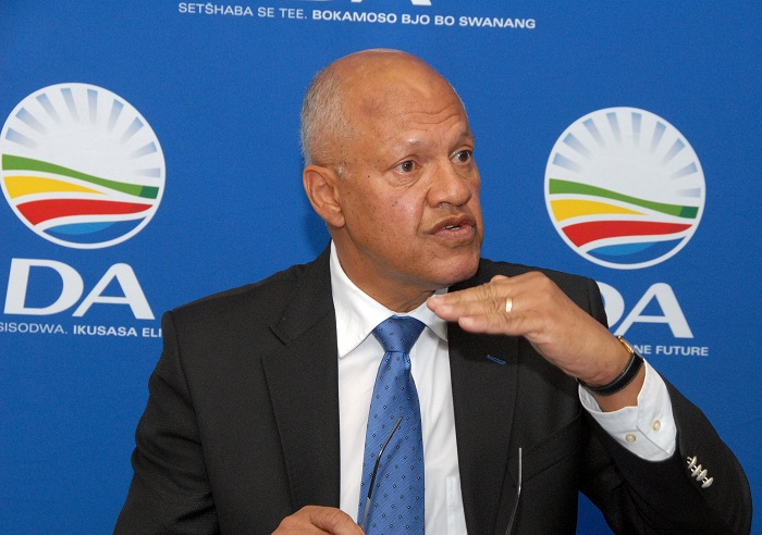 Democratic Alliance trade and industry spokesman Wilmot James. Picture: ARNOLD PRONTO