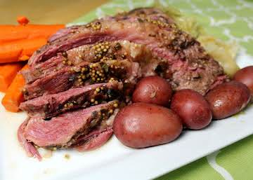 Electric Pressure Cooker Corned Beef & Vegetables