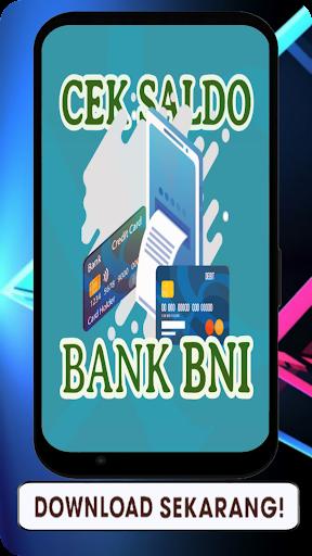 Updated Cara Cek Saldo Bni Lewat Hp App Download For Pc Android 2021