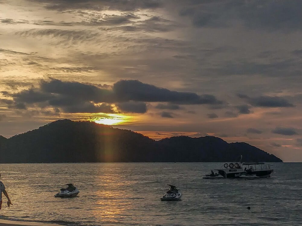 watch the sunset at the batu ferringghi beach in penang is a must if you are thinking about what to do in penang in 3 days