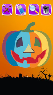 Halloween Coloring Book Pages 1.4 APK + Mod (Free purchase) for Android