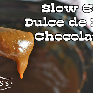 Slow Cooker Dulce de Leche Chocolate Dip