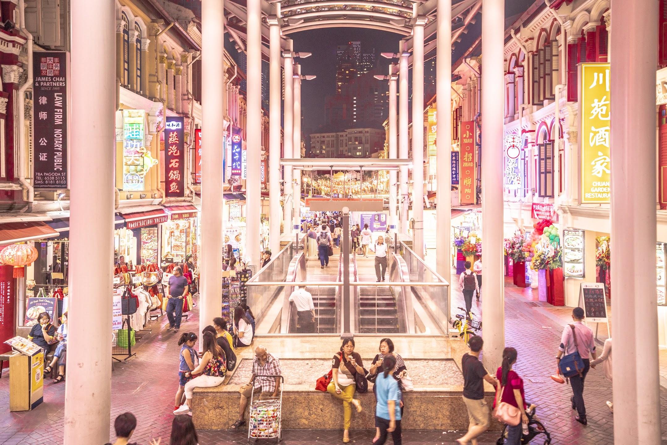 Singapore Chinatown station2