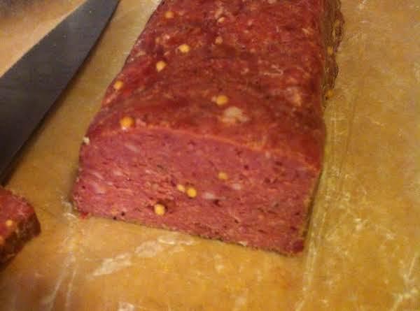 Easy Venison Salami Recipe