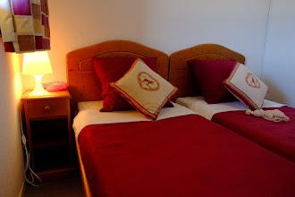 Photo: Chambre twins d'un appartement de la résidence le Clos des Fontaneilles