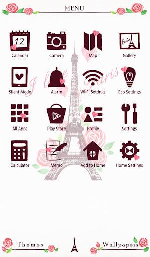 I Love Paris Wallpaper 1.0.0 Windows u7528 2