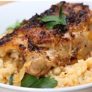 2. Lemon Pepper Chicken & Creamy Rice
