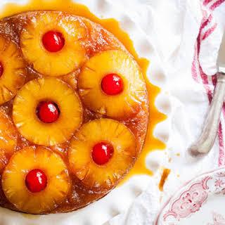 Pineapple Upside-Down Cake.