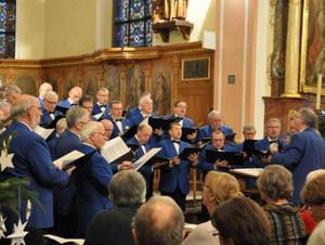 Le Choeur d'Hommes 1856 de Molsheim chante pour le projet de L'Arche à Strasbourg