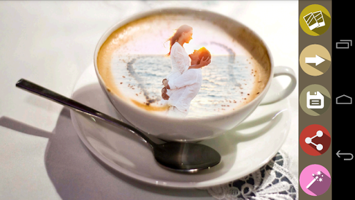 CoffeeCupのフォトフレーム