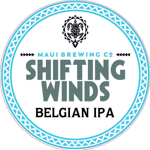 Logo of Maui Brewing Co. Shifting Winds