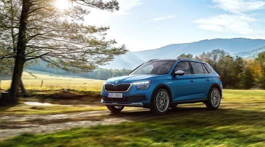 Saveauto presenta el SKODA Kamig Scout, la versión campera del SUV compacto