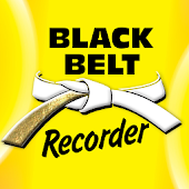 Black Belt Recorder White DLX