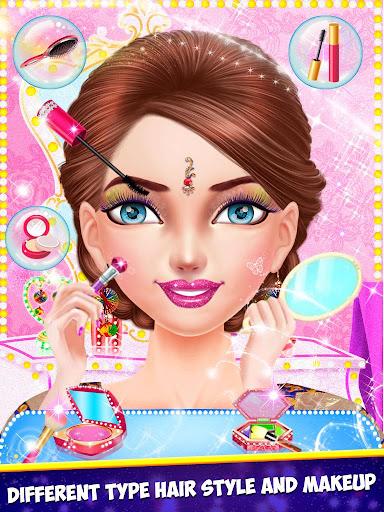 Indian Girl Wedding Makeup Game apkmind screenshots 7