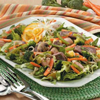 Hearty Stir-Fry Salad.