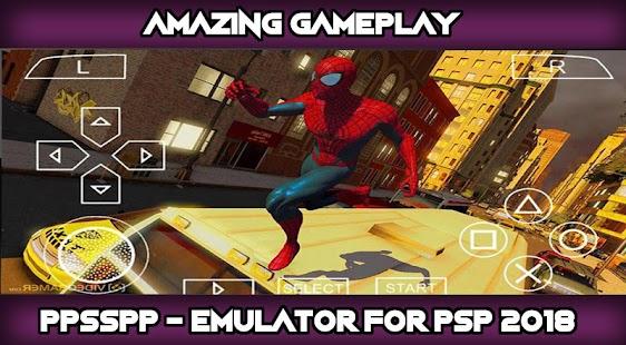psp emulator - ppessp gold 2018 - náhled
