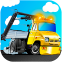 Tow truck games for free icon
