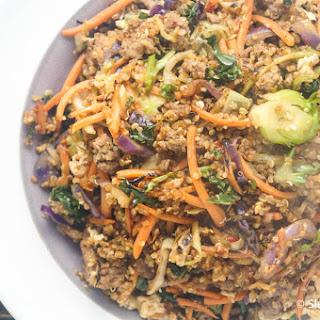 Asian Quinoa and Turkey Stir-Fry